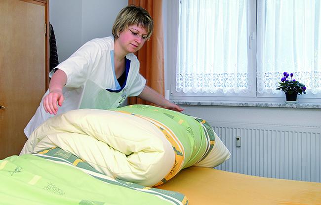 APS Bettenmachen